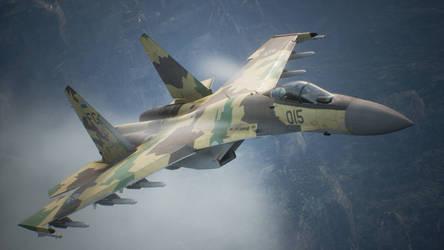 Su-35S Flanker-E by Karma45