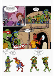 TMNT Adventures tribute  1/2 by kotouma