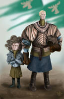 Brienne and Loras by Rewind-Me