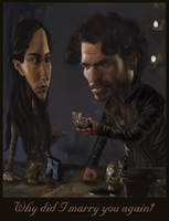 Robb and Talisa by Rewind-Me