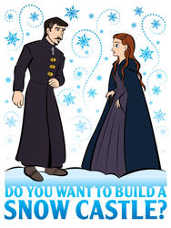 Do You Want To Build a Snow Castle by Rewind-Me