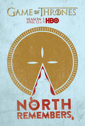 The North Remembers Pie Poster by Rewind-Me
