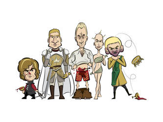 Lannister Family Portrait by Rewind-Me
