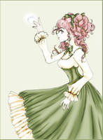 Lolita in green by neerai