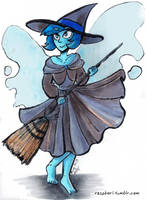 Steven Universe: Lapis the Witch by Raspberl