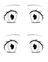 eye template by love2drawmanga on deviantart