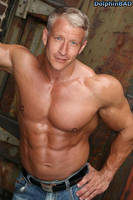 MuscleMorph: Anderson Cooper by dolphinbad