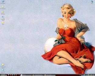 pin up desktop by xgreymousex