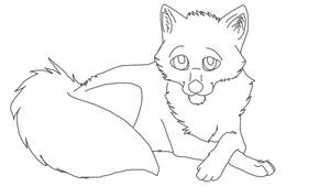 Free Puppy Dog Eyes Lineart by ChessWolf