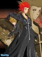 Axel X Roxas? by Blue-Wing