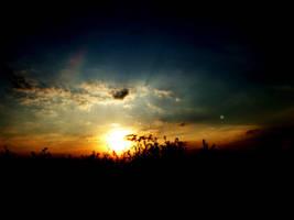 Anti-Winter-Depression-Sunset by Kleepaa