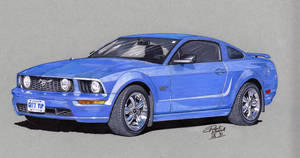 2007 Mustang GT by coldgopher