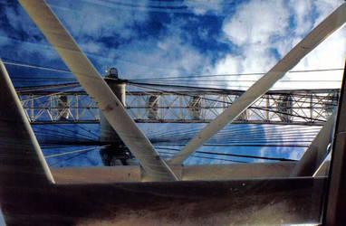 London Eye, Detail by QBlueRoses