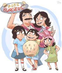 burger bob by Kazia-Kat