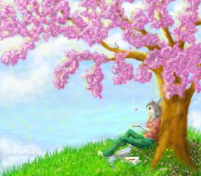Blossom the world by Ronjanade