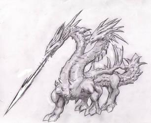 2headed dragon by Random223