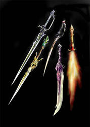 Weaponry 74 - awesome blades by Random223