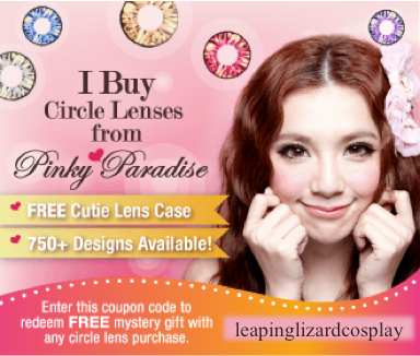 Freegiftpinkyparadise by LeapingLizardCosplay