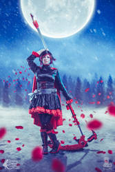 Ruby Rose RWBY by LeapingLizardCosplay