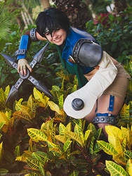 Yuffie Kisaragi Final Fantasy VII by LeapingLizardCosplay