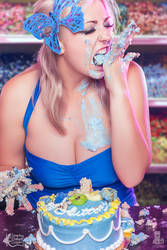 Modeling Shoot Series Seven Deadly Sins Gluttony by LeapingLizardCosplay