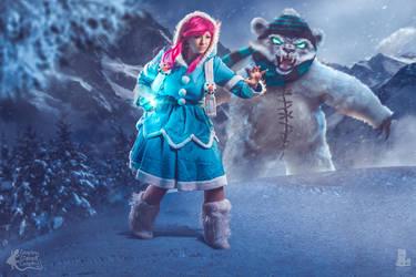 Frostfire Annie by LeapingLizardCosplay