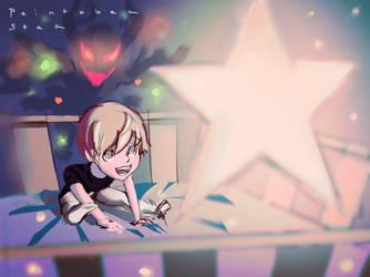 Inktober - star by Nearys