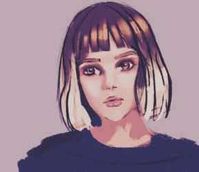 Girl portrait by Nearys