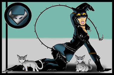 Catwoman Rises by Flash-of-Lingt