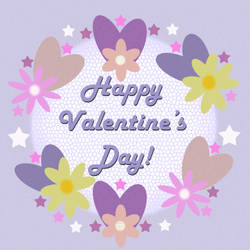 Happy Valentines Day! by Shirley-Agnew-Art