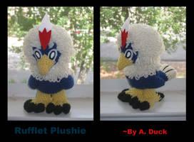Rufflet Plushie by Milayou