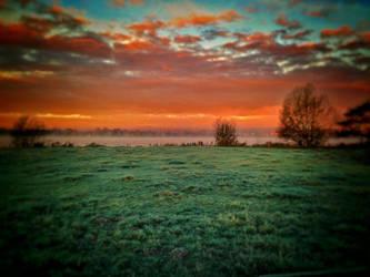 morning sky by emil8650