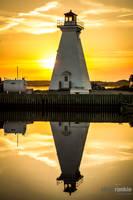 Double Lighthouse by steverankin