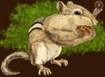 Chipmunk by marcgosselin