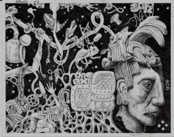 Mayan Dream by marcgosselin