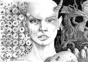 Harvester of eyes by marcgosselin