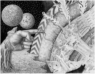 Unraveling into oblivion by marcgosselin