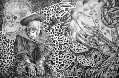 Sea Monkeys by marcgosselin