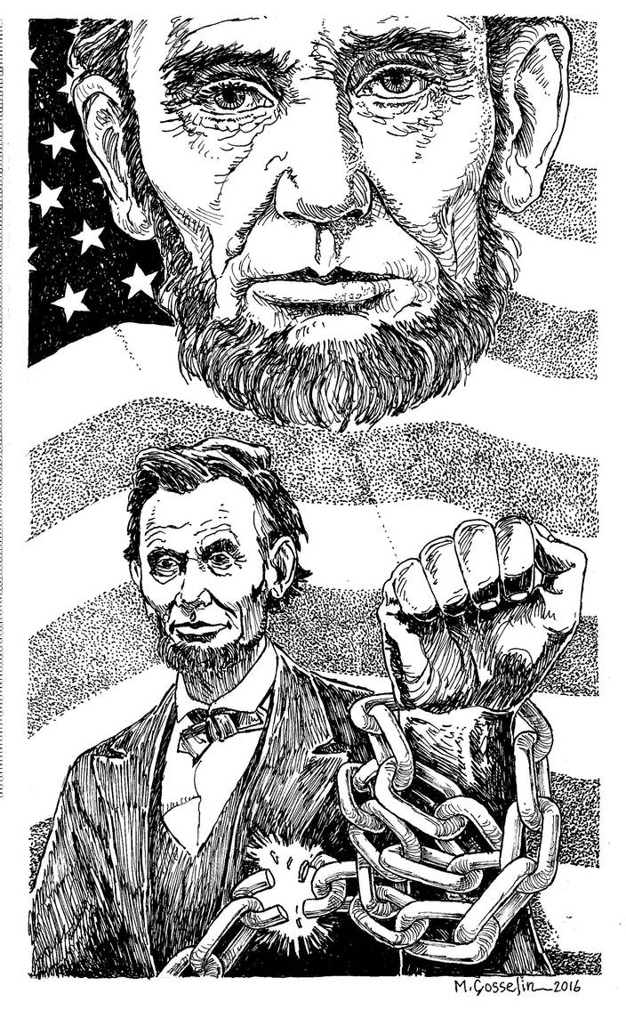Emancipation Proclamation by marcgosselin