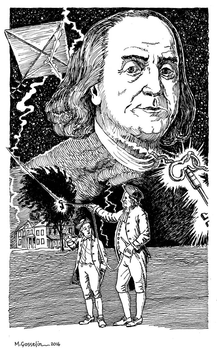 Benjamin Franklin by marcgosselin
