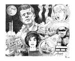 JFK Assassination according to Donald Trump by marcgosselin