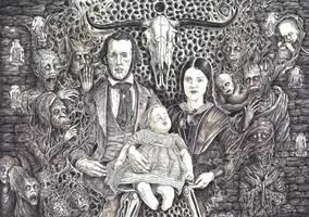 The Haunted Famillia by marcgosselin