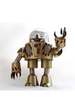 steel robot 001 front by jashawk