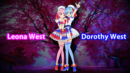 Dorothy West and Leona West Wallpaper by ShermanShermanXFive