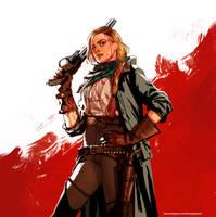 Fanart-Red Dead Redemption2 - Sadie Adler by ThomasJakeRoss