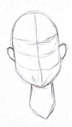 basic headshot lineart by Mr-Kumalover