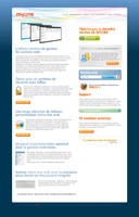 mycms homepage by nicosaure