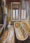 Bathroom, 7 p.m. by rollarius55