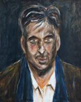 Portrait of a man by rollarius55