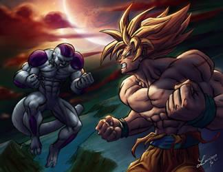 Epic battle by demitrybelmont